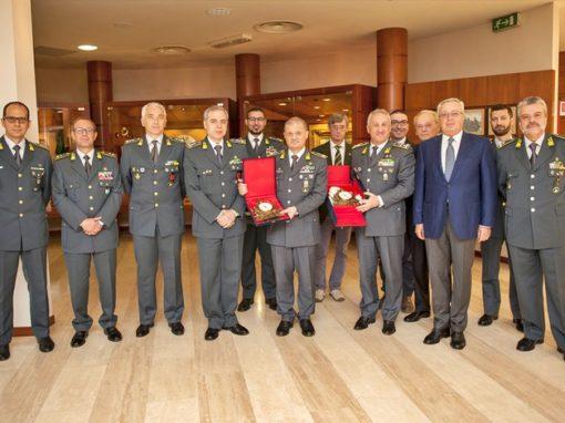 Partecipazione visita Generale Toschi al Museo Storico del Corpo