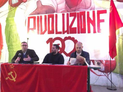 """Partecipazione al convegno """"Rivoluzione 100"""", Villaggio Globale Roma"""
