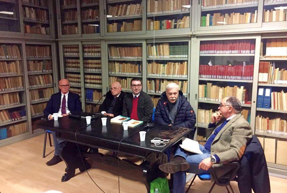 Presentazione libri Ebrei non più italiani e fascisti e Le leggi razziali e il Valor Militare