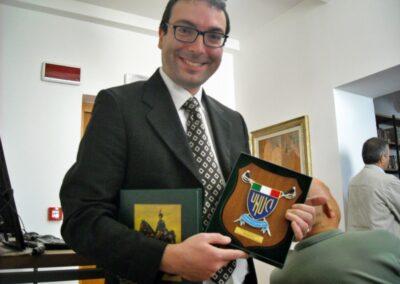 """Conferimento del premio """"Europa 2010"""" per il volume La Guardia di Finanza nelle isole italiane dell'Egeo 1912-1945 -Montecarlo di Lucca"""