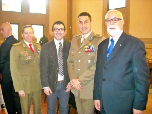 """Partecipazione al convegno """"Le missioni di pace ed il valore militare"""""""