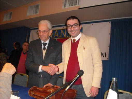 """Partecipazione al convegno """"La ricostituzione dell'Esercito italiano e il suo impegno nella guerra di liberazione"""""""