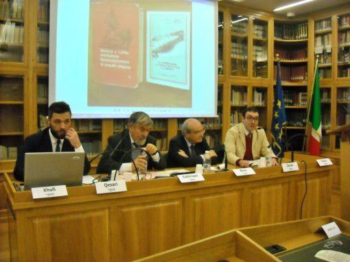 """Partecipazione al convegno """"I soldati italiani in Albania: da occupatori a combattenti per la libertà"""""""
